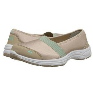 Ryka Luxe - Tan Slip-On Sneakers Size 9.5W
